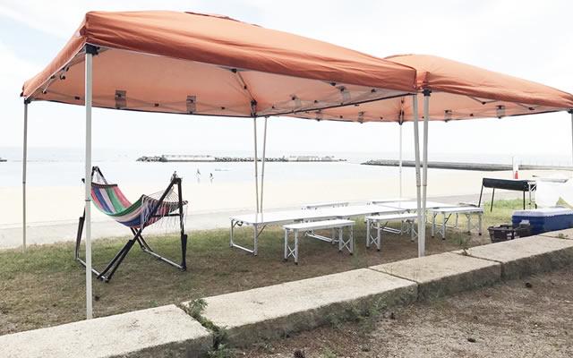 箱作海水浴場(ピチピチビーチ)