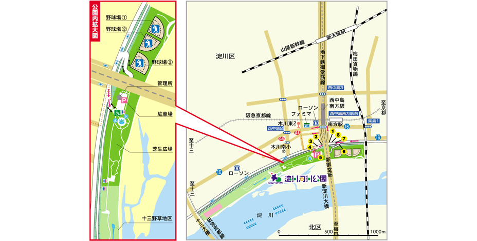 西中島MAP