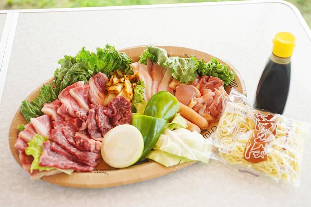 西中島お肉メニュー